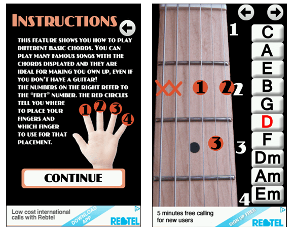 learn guitar chords android app
