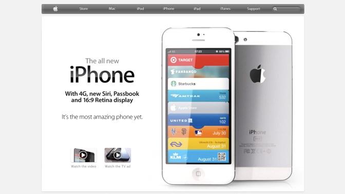 latest iphone homescreen