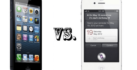 iphone5_Vs_iphone4s
