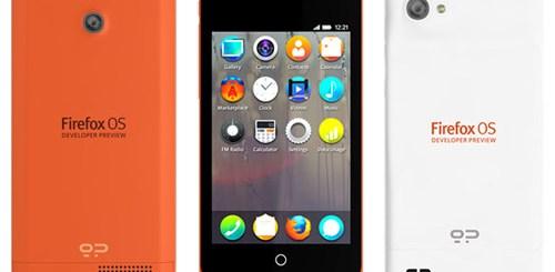 Firefox OS Developer Preview Phone