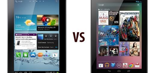 Galaxy Tab 2 Vs Nexus 7