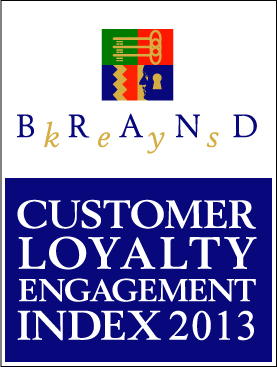 Brand Keys Customer Loyalty Index 2013