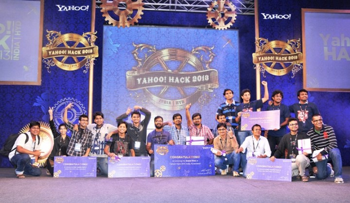 Winners of Hack India 2013