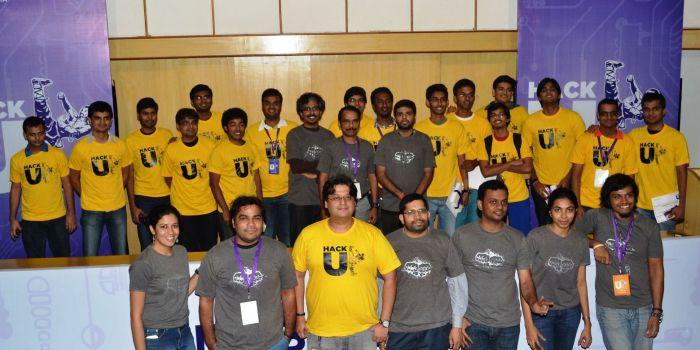 Winners -  Hack U at IIT Bombay with Yahoo! Team_2013