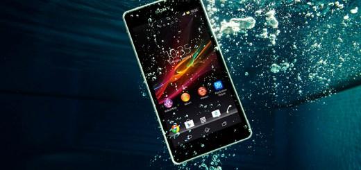waterproof smart phone