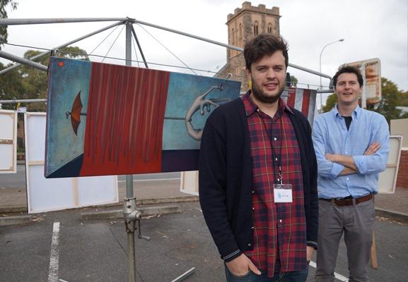 George Hartley and Edward Hartley, Bluethumb.com