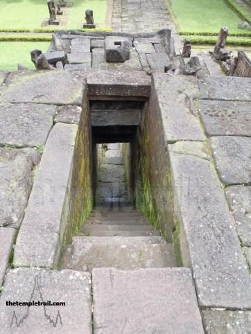 Candi Sukuh Pyramid top