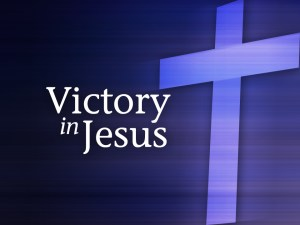 Victory in Jesus (title)