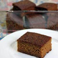 A Simple, Sticky and Thrifty Ginger Cake!