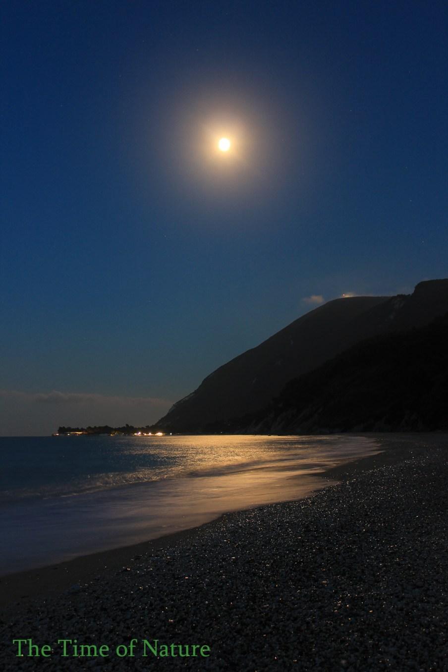 Un tramonto al Chiaro di Luna