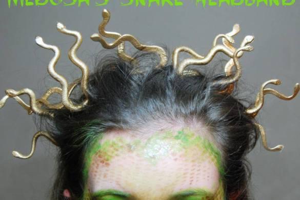 medusa-snake-headband