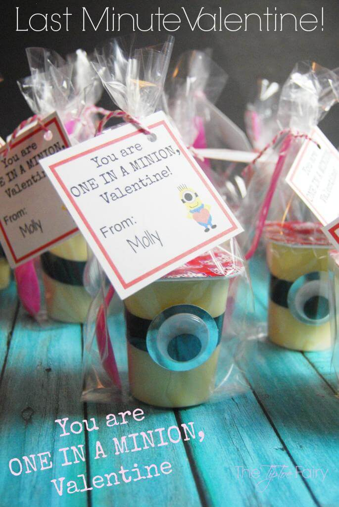 Last Minute Valentines - You are One in a MINION, Valentine!