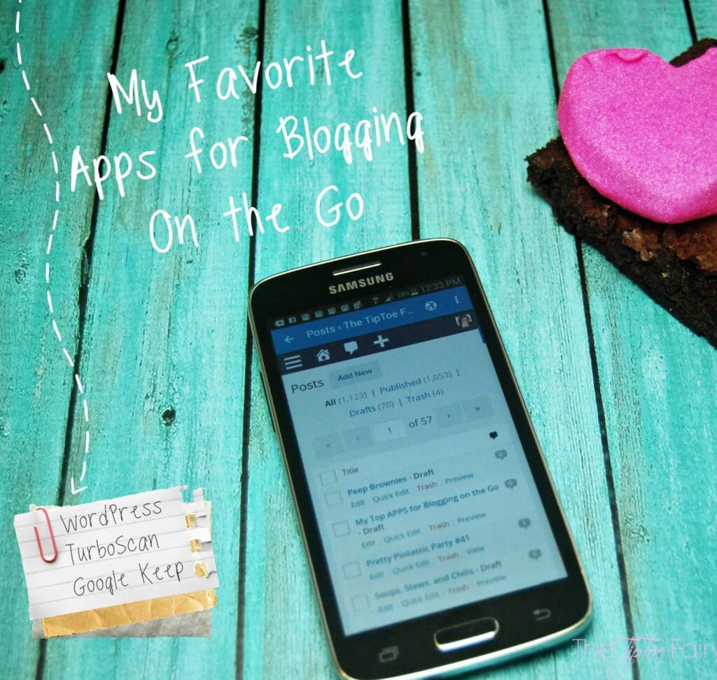 My Favorite Apps for Blogging on the GO! | The TipToe Fairy #ChangingPrepaid #Ad
