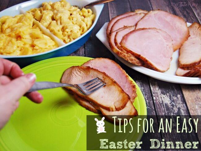 Easy Easter Dinner Tips with HoneyBaked Ham   The TipToe Fairy #HoneyBakedEaster