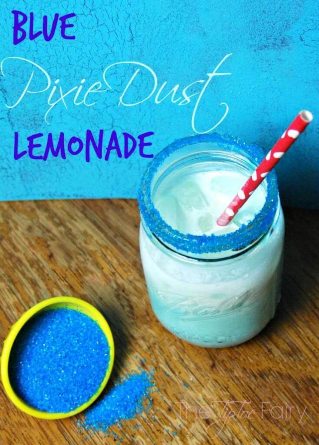 Blue Pixie Dust Lemonade