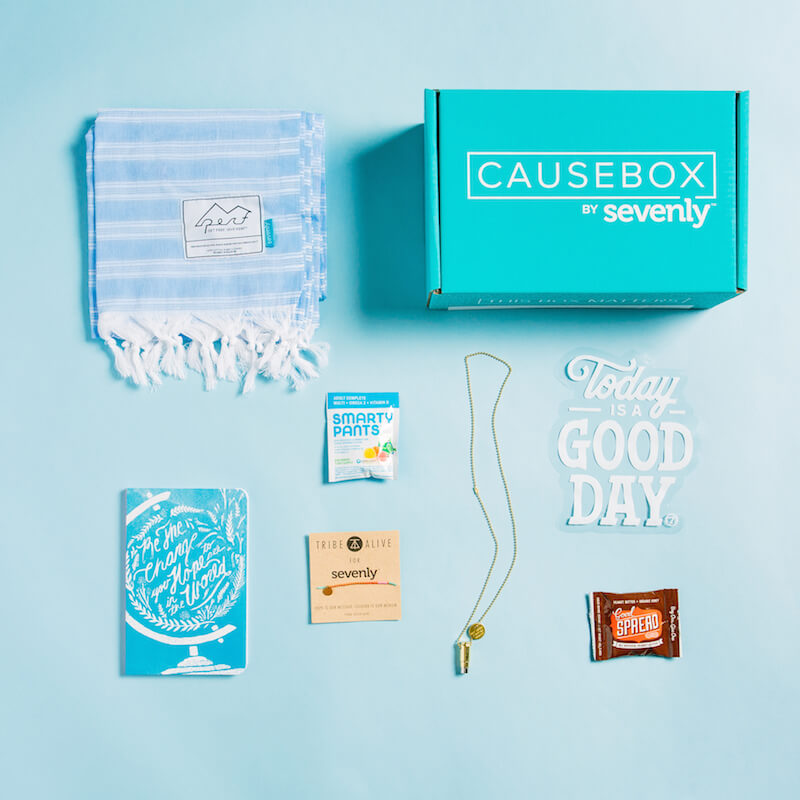 Unboxing of the CAUSEBOX02   The TipToe Fairy #CAUSEBOX02; #thisboxmatters; #sevenly