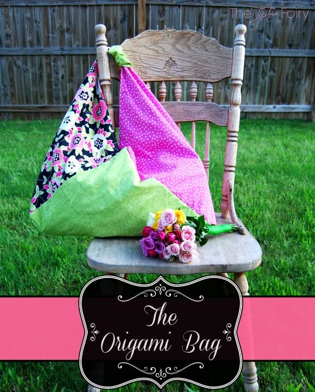 Make an Origami Bag for the Best Mom's Day Ever!