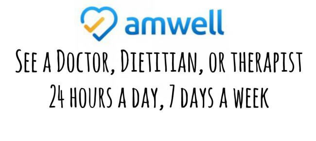 Get a FREE Online visit to the Doctor with the Amwell App! Come grab a coupon code for a FREE Visit #ad #momsloveamwell | The TipToe Fairy