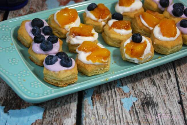 Yogurt Puff Pastries - A simple snack for everyone! #ad   The TipToe Fairy