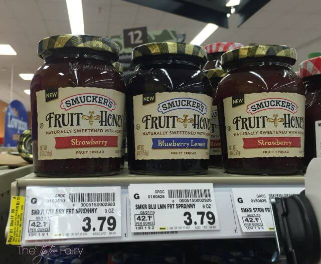 Check out the new Smucker's Fruit & Honey Fruit Spreads - naturally sweetened with honey! #ad #FruitAndHoney   The TipToe Fairy