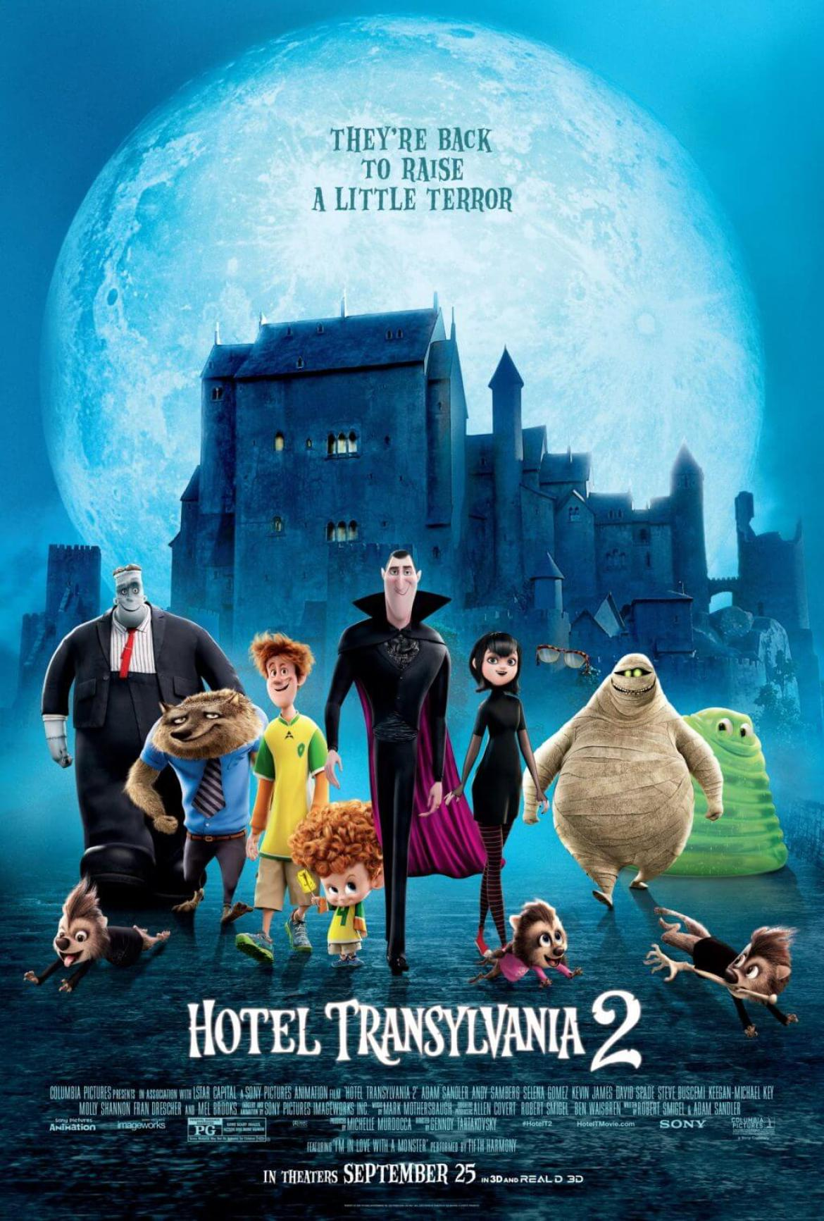 Win a Movie Prize Pack for Hotel Transylvania 2! #HotelT2 #ad | The TipToe Fairy