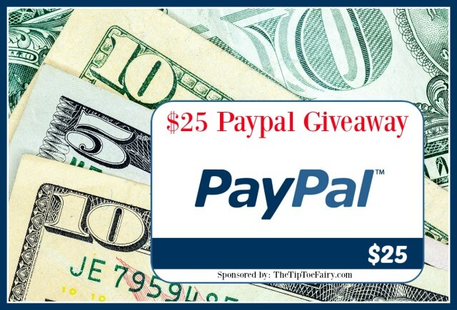 $25 Paypal Giveaway!!