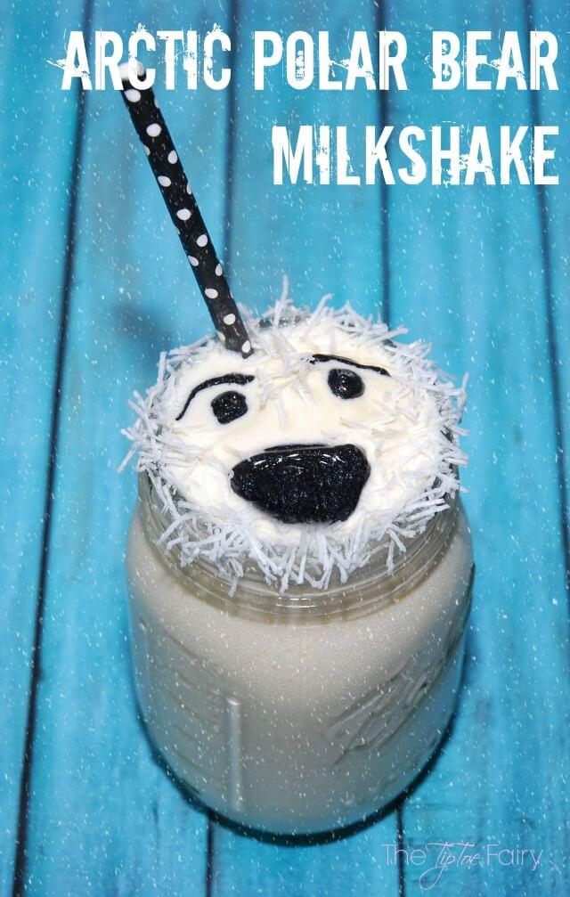 Polar Bear Milkshake, do the Arctic Shake & enter to #win Fandango GC! AD #IC #BreakTheNorm