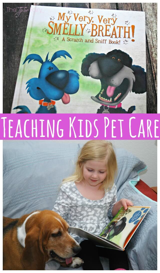 New scratch & sniff book for #kids about #pet dental health care!  @Banfield AD
