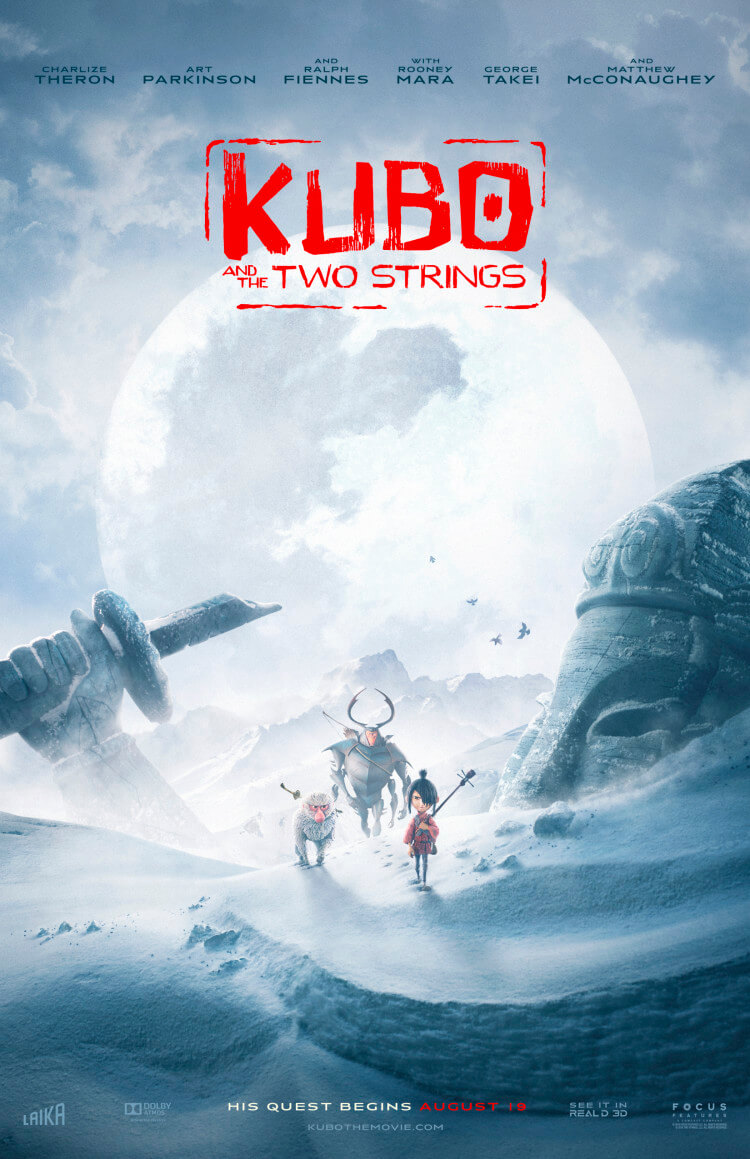 Come see the amazing gift #KuboTheMovie sent me & check out the #movie trailer!