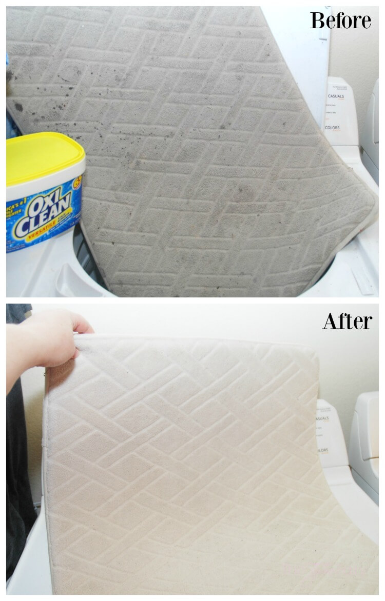 Did OxicClean get the stains out of my Heirloom Quilts? See my before & after! #ad