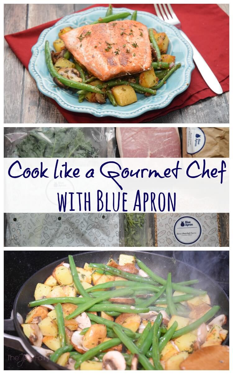 Cook like a Gourmet Chef w/ Blue Apron! #AD #foodie #food