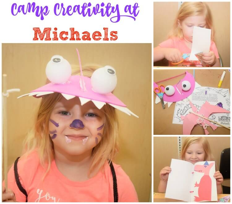 Turn your kids into #michaelsminimakers at Camp Creativity w/ #madewithmichaels AD