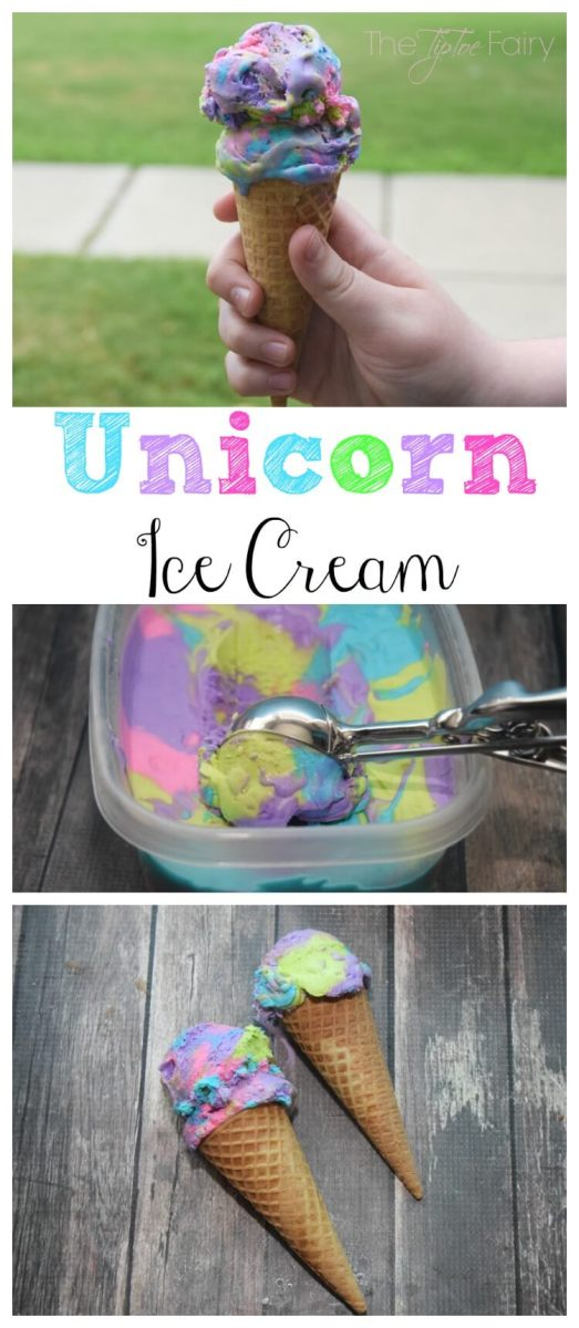 Unicorn Ice Cream