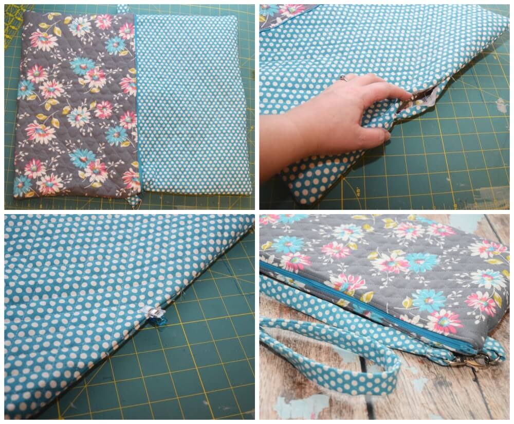 Get #BTSwithHP w/this #easy #DIY Laptop Bag #craft! #ad #backtoschool