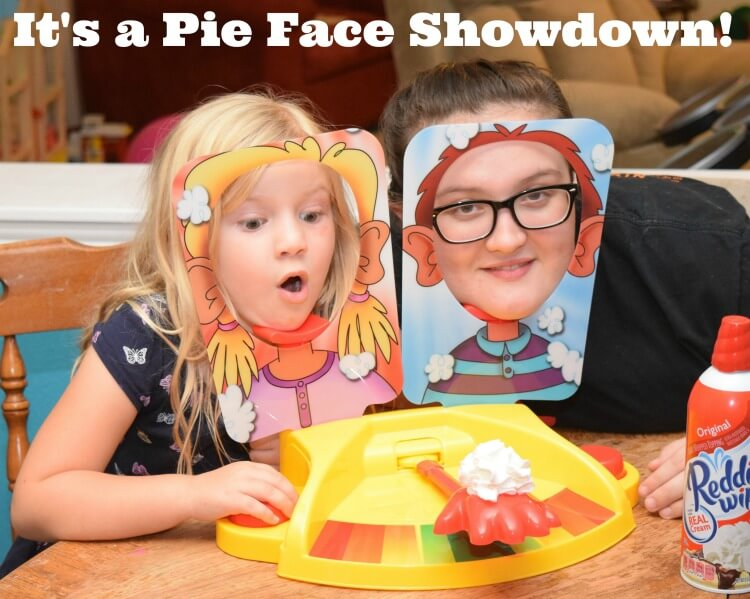 It's the #PieFace Showdown! Come see how much fun it is! #IC #ad