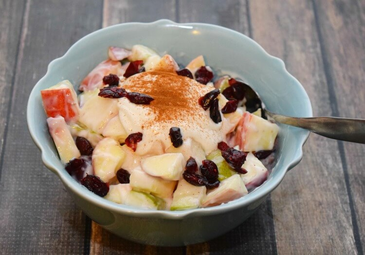 Make this Easy Fall Apple Salad #BetterWithCraisins! #ad #food #yum