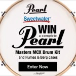 Win a Complete PEARL Masters MCX Drum Kit