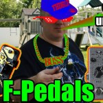 F-Pedals - Outdoor Unboxing in 4K - Thug Life Style