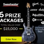 Sweetwater Giveaway - Win 1 of 6 Guitars