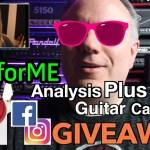 #APforME - Analysis Plus Guitar Cable Give-Away