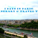 paris itinerary and travel tips