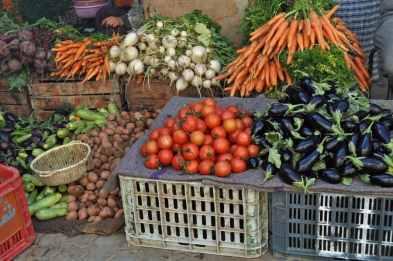 Food Market in Taroudant, Morroco