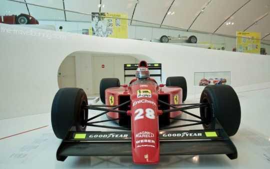 Casa Enzo Ferrari Exhibit