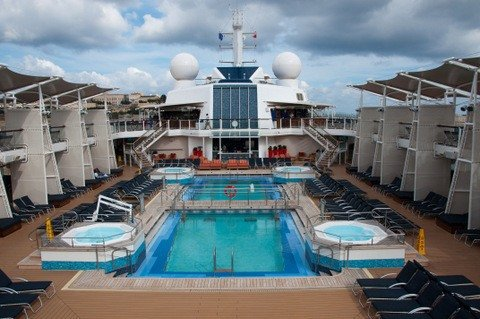 Celebrity Silhouette's Pool