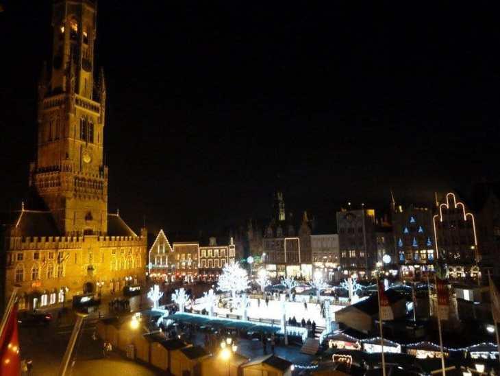 Grote Markt at Christmas