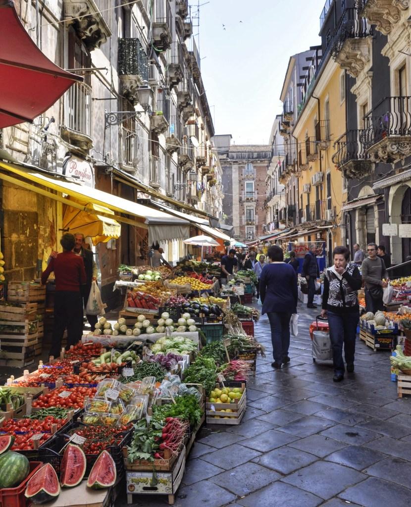 Catania Market, Sicily