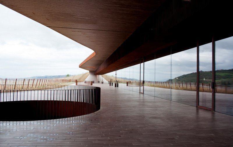 Terrace at Cantina Antinori