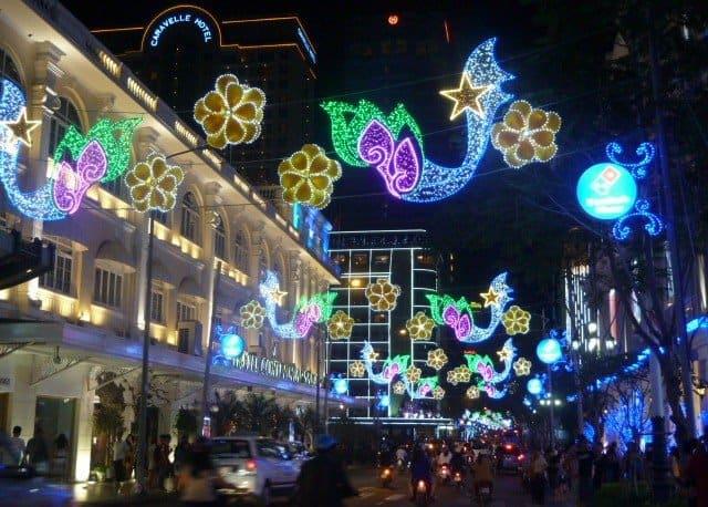 Saigon Lights Streets