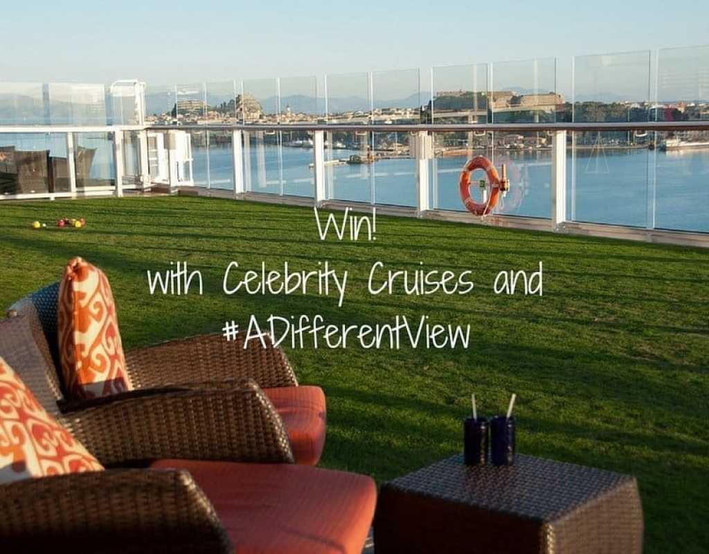 #ADifferentView Celebrity Cruises