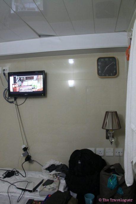 hotel room in hong kong chungking mansions